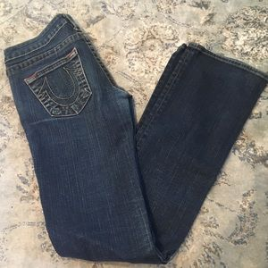 True Religion jeans, size 28